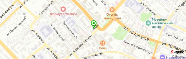 Салон-магазин LifeMobile — схема проезда на карте