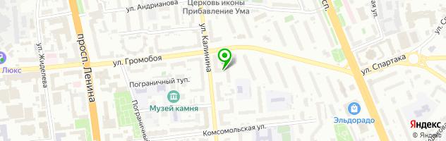 Косметология Натальи Глазуновой — схема проезда на карте