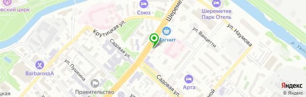 Торгово-сервисная компания РМ-центр — схема проезда на карте