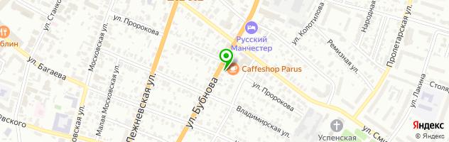 Stolbar №1 — схема проезда на карте