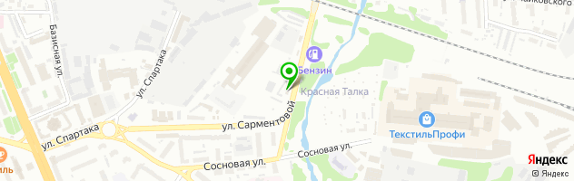 "Автосервис ""Золотой ключик"" — схема проезда на карте"