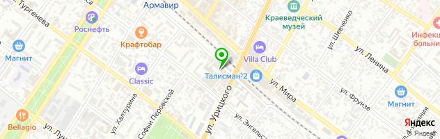 Столовая Кормилица — схема проезда на карте