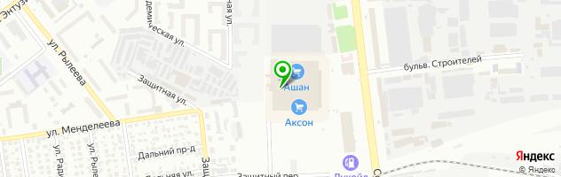 Сервисный центр DNS — схема проезда на карте