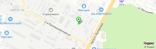 Автосервис SHTEFAN — схема проезда на карте