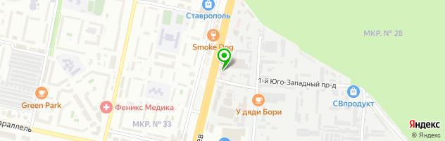 Ресторан Пальмира-клуб — схема проезда на карте