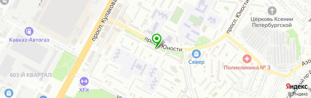 Городской ломбард — схема проезда на карте