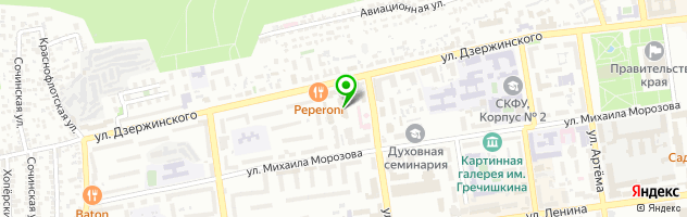 Медицинский центр им. Д.Р. Лунца — схема проезда на карте