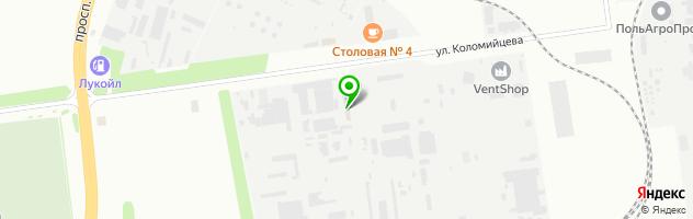 ТЮНИНГ ЦЕНТР — схема проезда на карте