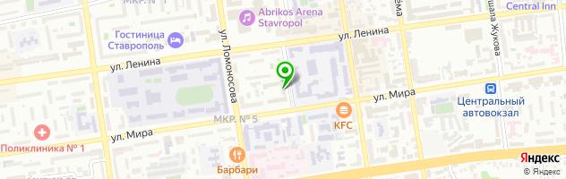 Торгово-сервисный центр Оргтехника-Сервис — схема проезда на карте