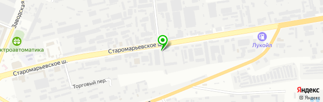 Автомастерская — схема проезда на карте