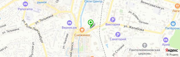 """Массажный кабинет """"Здоровье+"""" — схема проезда на карте"""