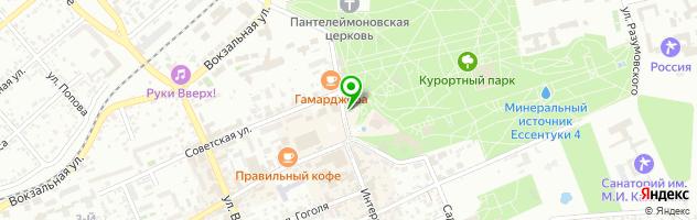 Караоке бар ОПЕРА — схема проезда на карте