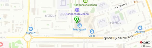 Ювелирная мастерская — схема проезда на карте