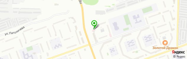 Развлекательный комплекс BierЛога — схема проезда на карте
