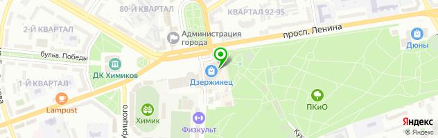 Магазин-мастерская — схема проезда на карте