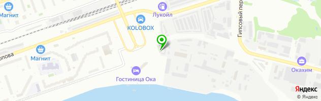 Торгово-ремонтная компания Вега Автогаз — схема проезда на карте