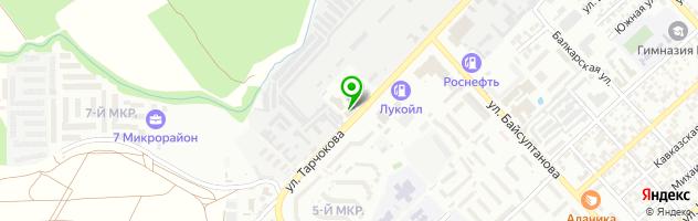 Страховая компания Согласие на улице Тарчокова — схема проезда на карте