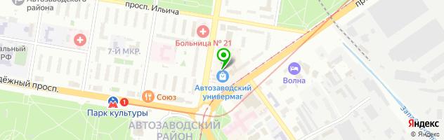 """Магазин - мастерская """"Штучки"""" — схема проезда на карте"""