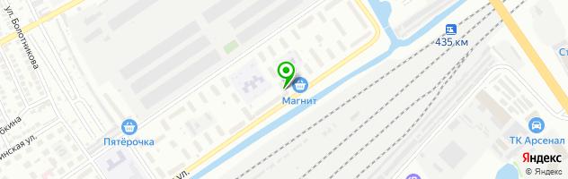 Ателье УНИВЕРСАЛ — схема проезда на карте