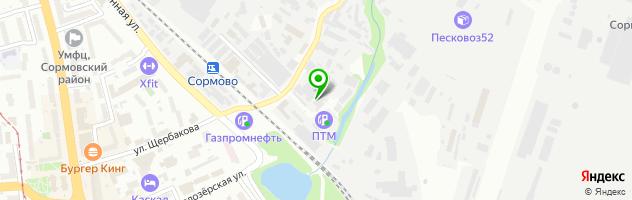 Магазин-мастерская Доктор Бенц — схема проезда на карте