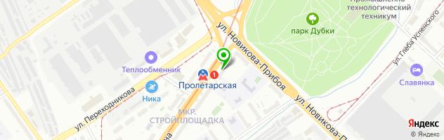 Медицинский центр ИНТРА — схема проезда на карте