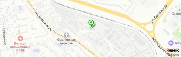 Кафе Сим-Сим — схема проезда на карте