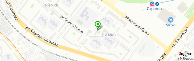 Ателье Ольга — схема проезда на карте
