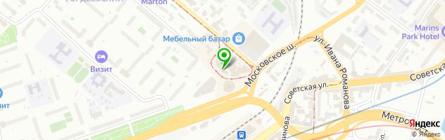 Ателье Регина — схема проезда на карте