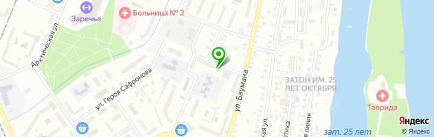 Сервисный центр Ага-сервис — схема проезда на карте