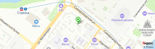 Столовая Сервис 52 — схема проезда на карте