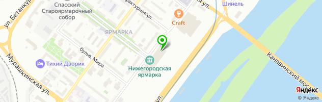 Музей занимательных наук Кварки — схема проезда на карте