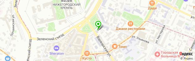 5 минут — схема проезда на карте