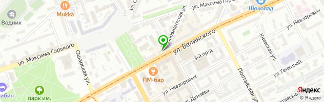 Медицинский центр Веста-НН — схема проезда на карте