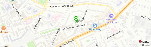 Рекламное агентство АМ Медиа Центр — схема проезда на карте