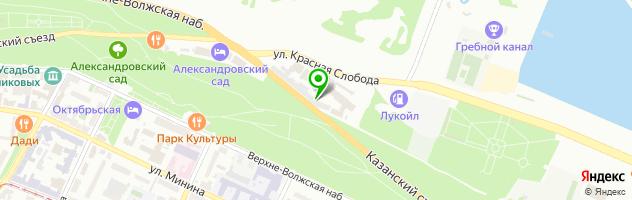 Ресторан Купеческий — схема проезда на карте