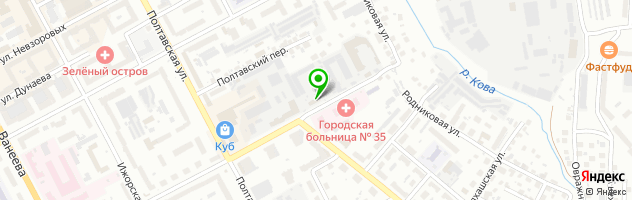 Магазин-мастерская Ошара — схема проезда на карте