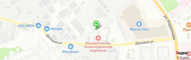 Автосервис Аларм Систем — схема проезда на карте