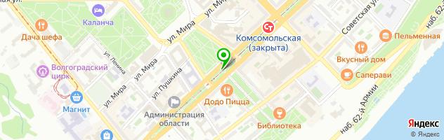 QuestHunter - квесты в реальности — схема проезда на карте