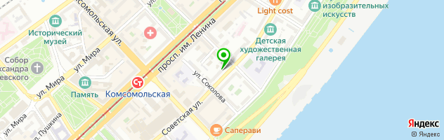 "Салон ""Арт Оптика"" — схема проезда на карте"
