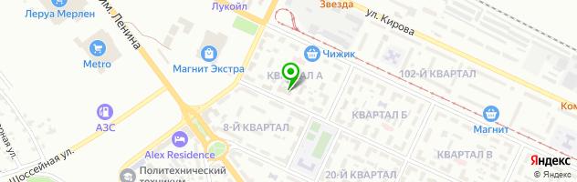 Ресторан Асгард — схема проезда на карте