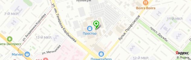 Развлекательный комплекс КАКАДУ — схема проезда на карте