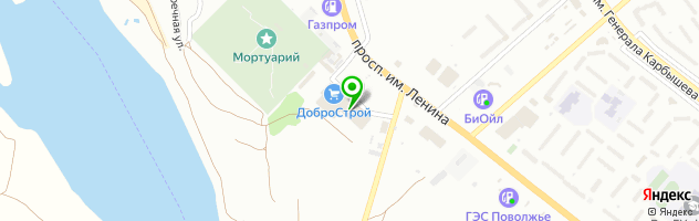 Банкомат Поволжский банк Сбербанка России — схема проезда на карте