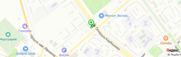Автокомплекс Каскад — схема проезда на карте
