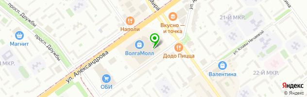 PrintCafe — схема проезда на карте