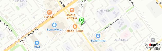 Центр бытовых услуг Дом быта — схема проезда на карте