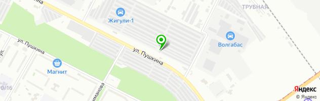 Гаражно-строительный кооператив Жигули-2 — схема проезда на карте