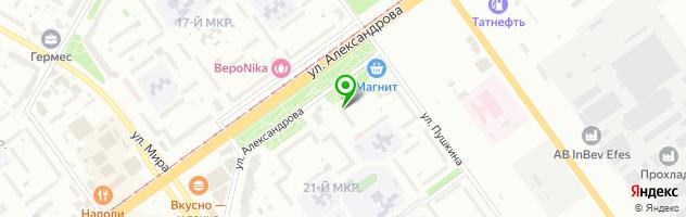 Торгово-сервисная компания Гратис — схема проезда на карте