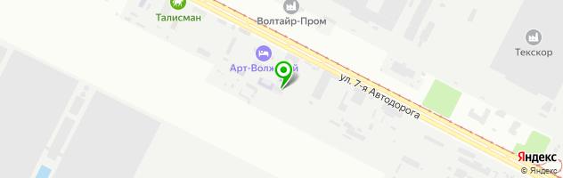 ВПИ Волжский политехнический институт — схема проезда на карте