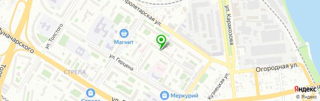 Ателье по пошиву школьной и форменной одежды Когорта98 — схема проезда на карте