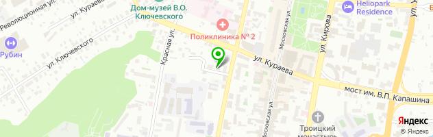Медицинский центр Доктор Борменталь — схема проезда на карте
